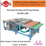 Tipo horizontal para el lavado limpio de cristal y la secadora