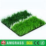 Tappeto erboso del campo da giuoco di gioco del calcio ed erba artificiali del giardino