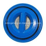 Doble disco de la válvula de retención oscilante