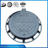 OEM Castings en Fonte de Sable de Carrés / Triangle / Rectangle Manhole Covers