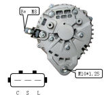 12V 130A Alternator voor Hitachi Nissan Lester 11165 Lr1130703
