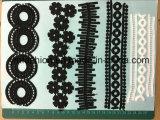 El bordado de encaje de productos químicos para el accesorio de Vestido Ym-8