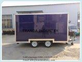 De nieuwe Vrachtwagens van het Voedsel van de Vrachtwagen van de Machine/van de Catering van de Snack van het Type Mobiele