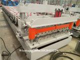 Het broodje die van de Tegel van de Kleur van het Dakwerk van de Tegel van de Instelling van het Staal Efficiënte Machine vormen