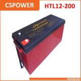 Batterie de gel de température élevée du fournisseur 12V200ah de la Chine - soldat de marine de longue vie