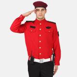 中国の製造の均一製品供給のタイプ警備員のユニフォーム、画像のポストの機密保護のスーツ