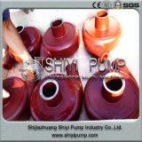 Peças centrífugas Wear-Resistant resistentes da bomba da pasta do processamento mineral do tratamento da água