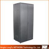 Gabinete de rede de 19 polegadas com porta de metal duplo