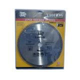 La circular del Tct vio la lámina para la madera, corte de aluminio