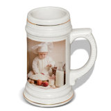 Atacado Sublimation 22oz Ceramic Beer Mug Printing em Canecas