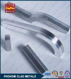 De mariene Overgang treedt in de Beklede Metalen van het Staal van het Aluminium toe