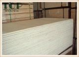 4 ' álamo del grado del carburador de *8' 6/9/12/15/18m m/madera contrachapada comercial de la base de Enculytus para los muebles
