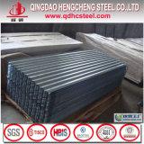 SGCC DX51d ASTM A653 galvanisé G90 des feuilles de toiture en carton ondulé