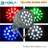 Luz de 18X10W 4in1 RGBW LED PAR64