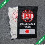Custom Logo e Words Embroidery Badges para Roupas Vestuário Vestuário