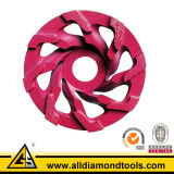 Diamond Concrete Floor Cup abrasif de coupe de roue / outils de diamant