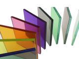 Preço desobstruído/colorido do vidro laminado, vidro laminado (JINBO)