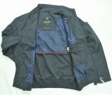 Куртка сплетенных дешевых людей ткани напольная