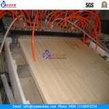 Portello del PVC/macchina di plastica di legno dell'espulsione scheda di pavimento