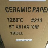 À prova de fogo e papel de Fibra Cerâmica Isolante térmico