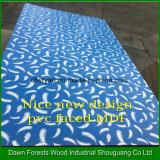 MDF de la melamina del buen diseño/de la buena calidad para el uso de los muebles