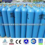o melhor preço do cilindro de gás do cilindro de oxigênio do preço 50L com tampão e válvula