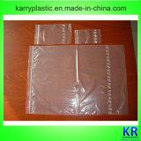 Armazenamento do selo do Zipper do LDPE e sacos do congelador