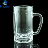 tazza di vetro bianca eccellente di nuovo disegno 400ml per birra