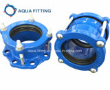 Couplage universel de large éventail flexible malléable de fer pour PVC, Di, pipe en acier