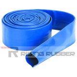 12 pulgadas de alta presión Layflat PVC flexible, manguera de agua