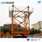 China-vorbildlicher guter Preis hoher Configurate PT5610-6 toplesser Turmkran