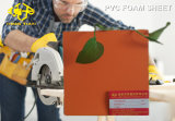Folha de espuma de PVC laranja para Sculp 1-5mm