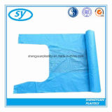 Wegwerf-HDPE/LDPE Weste handhabt PlastikEinkaufstasche