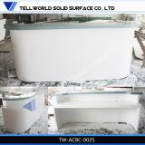 Contador branco de superfície contínuo acrílico da barra do certificado do GV (TW-033)