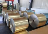 PE Feuille en aluminium à revêtement de couleur pour la décoration