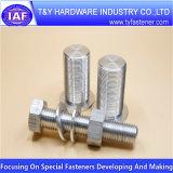 Alta calidad Lustrous sujetador de aluminio CNC parte