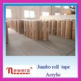 China hizo BOPP Jumbo Rollo de cinta adhesiva para el embalaje de uso