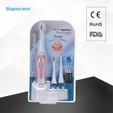 Elektronische Schwingung-Massage-erwachsene Zahnbürste mit Batterie Wy839-F