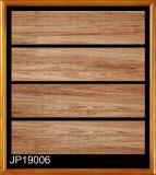 Azulejo de suelo de madera rústico de la porcelana de la baldosa cerámica de la mirada para el azulejo de suelo