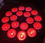 洗浄のための1つのLED Parcanライトに付きDMXの段階ライト18PCS 18W Rgbwauv 6つ