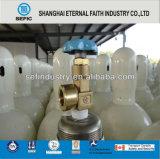 Válvula del tanque de gas argón Brass Helio Hidrógeno Oxígeno (QF / CGA)