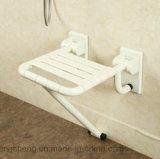 Sillas plegables blancas de nylon de la desventaja del cuarto de baño barato