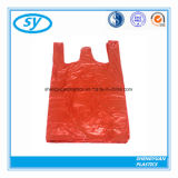 Wegwerf-HDPE/LDPE/LDPE Shirt-PlastikEinkaufstasche