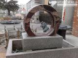 Stein geschnitzter Granit-/Marmorbrunnen-Polierkugel-Brunnen für Garten-Dekoration (CV006)