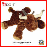 Plush Cow Toy Cartoon Design Peluche Jouet