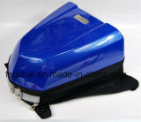 Sacchetto duro della coda del motociclo della fibra del carbonio con il coperchio netto