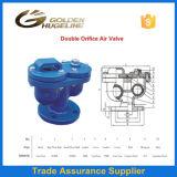 La fonte double libération de l'Air valves de l'orifice