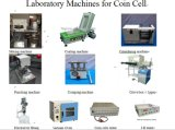Cadena de producción de la batería del ion de Li del laboratorio
