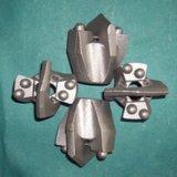 Pièces de machines de morceaux de foret de moulage de précision d'acier inoxydable pour le matériau de construction