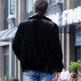 Jupe courte de fourrure de revers pour les vêtements de l'homme